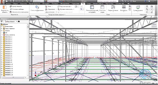 Информационная 3D-модель при проектировании теплиц