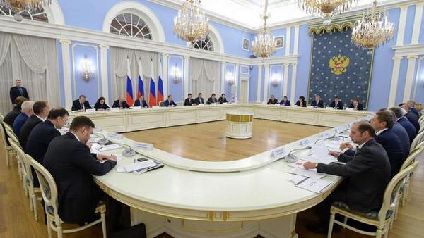 Совещание в Правительстве Российской Федерации 17.01.2015