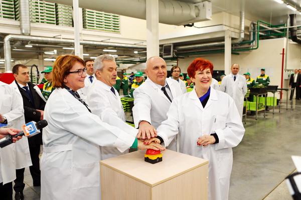 Открытие тепличного комплекса СХП «Теплицы Белогорья»