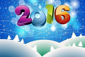 Поздравляем Вас с 2016 годом!