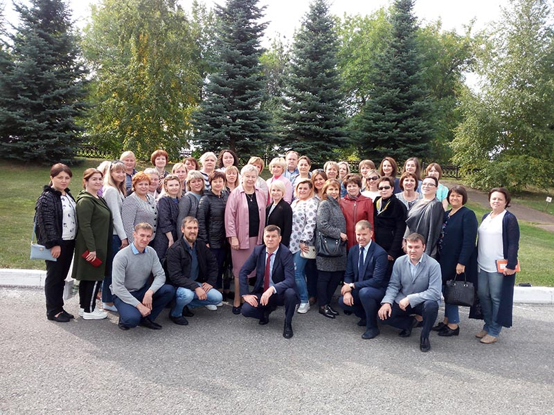 Photo report of the accountants seminar in Ufa (2018)