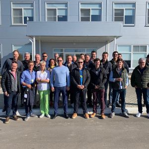 Французская делегация посетила отечественные теплицы